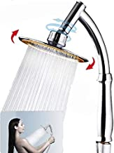 6 Inch 2 IN 1 Handheld Showerhead & Rain Shower Head, Easy to Install and Clean, ABS