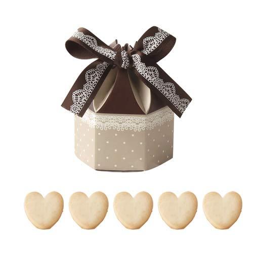 プチギフト お菓子 会社 ばらまき用 大量 業務用『ポンパドール(クッキー)』お礼 お返し おしゃれ イベント 個包装 結婚式 (●100個セット)