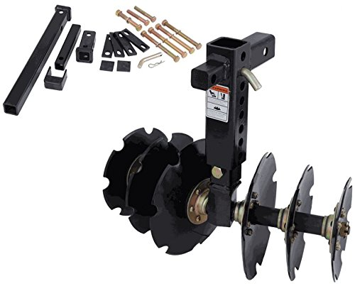 Bad Dawg Groundhog Max Disc Plow with Receiver Kit 088-9050-00