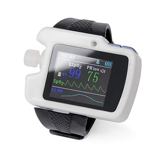 PULOX SAS-500 Schlafapnoe Gerät Messung, Schlafstörungs Test, Polygraphie-System zur Atmungsmessung bei Schlafapnoe