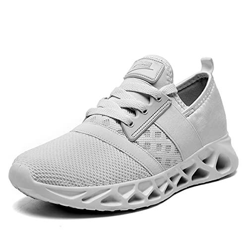 CAIQDM Zapatillas Mujer Deportivas Zapatos Bambas Running Deporte Tenis Sneaker Casual Correr Caminar Trabajar Gimnasio Fitness AtléTico CóModos Transpirables Ligeras Malla