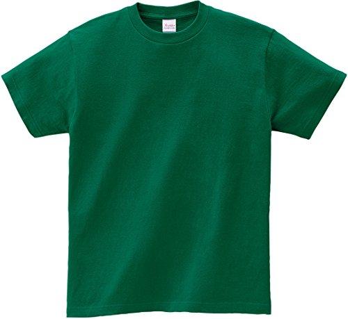 プリントスター 半袖 5.6オンス へヴィー ウェイト Tシャツ 00085-CVT キッズ ディープグリーン 日本サイズ 100cm