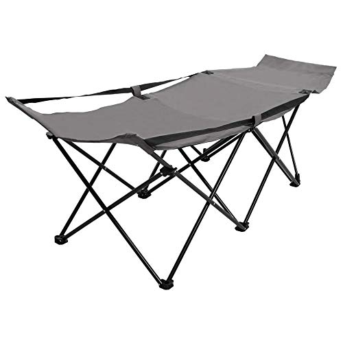 FYLYHWY Foldable Sun Lounger of waterproof Camping Lounge Chair for Outdoor Campsite Terrace Adjustable Backyard Furniture Garden Chairs