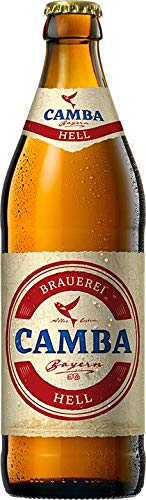 Camba Hell 12 x 0,5 bayerisches bier