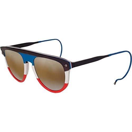 Vuarnet VL 1508 Sunglasses Flag/Brown Lynx, One Size