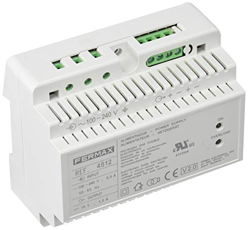 Fermax 4812 ALIMENTADOR DIN6 100-240VAC 18VDC-1,5A