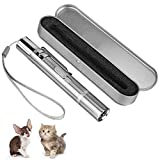 Cat Toys, Stainless Steel Cat Toys for Indoor & Outdoor Cats,Cat Interactive Toy for Cat Chase and Catch, Interactive Cat and Dog Toys for Pet Training Exercise