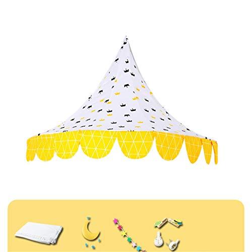 SZQ-Tiendas de Juegos Carpa de Techo, Tienda de campaña de los niños en la Cama Cuna Verano Mosquito Net niños de decoración de Interior/Rincón de Lectura 65 * 120 * 60cm, 80 * 150 * 75cm Niño Tiend