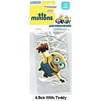 Minions Air Freshener/Bob With Teddy ミニオン エアフレッシュナー 芳香剤 [並行輸入品]