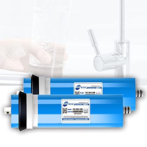 FILTER Cartucho de Repuesto de Membrana de ósmosis inversa 2812-200GPD para Sistema de ósmosis inversa de 5 etapas Debajo del Fregadero para Beber en casa