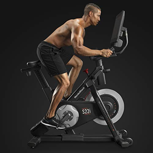 Product Image 2: Nordictrack Commercial S22i Studio Cycle , black