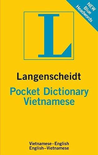 Langenscheidt Pocket Dictionary Vietnamese (Langenscheidt Pocket Dictionaries)