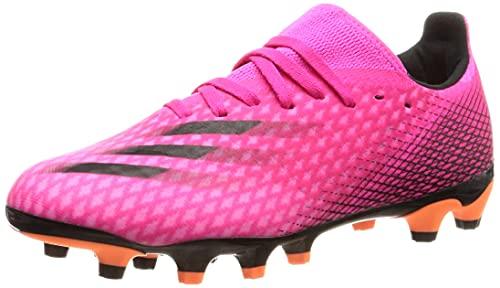 adidas Herren X Ghosted.3 Mg Fußballschuh, Mehrfarbig (Rossho Negbás Narchi), 41 1/3 EU