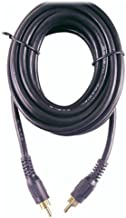 GE 23319 Coaxial Cable with RCA Plugs (12 Feet) (Discontinued by Manufacturer)