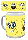 1art1 Spongebob - Expressions Tazza da caffè Mug (9 x 8cm)