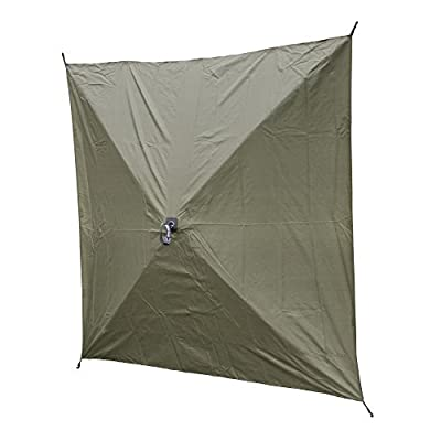 Quick Set 9896 Wind Panels, Tear-Resistant Durable Side Panels Fire-Retardant Screened Window (2 Pack), Green
