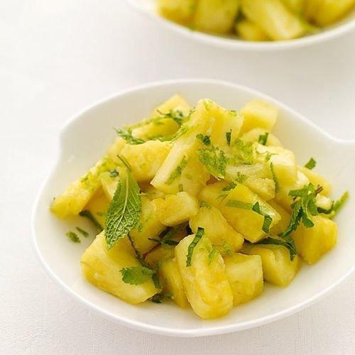 Pineapple Mint 1000 Seeds Rare Herb Medicinal Aroma