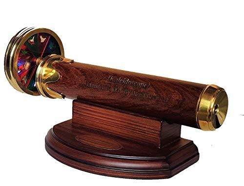 Castle Instruments Handmade 8 Inches Brass Working Kaleidoscope Best Birthday Gift for Children