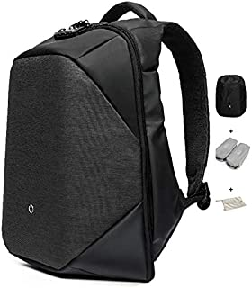 KORIN ClickPack Anti Theft Travel Backpack TSA Laptop Backpack 15.6 inch with USB Charging Port