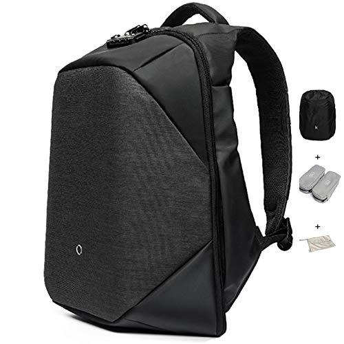 KORIN ClickPack Minimalist Anti Theft Travel Backpacks TSA Smart Laptop Backpack 15.6 inch USB Charging Port