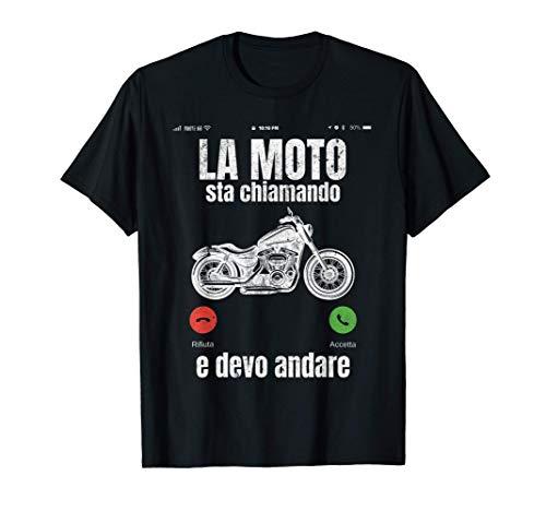 Motociclista Motociclismo Vintage Divertente Regalo Uomo Maglietta