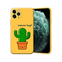 元豊電子for iPhone 12 11 Pro XS Max 12 mini XR 6 S 6S 7 8Plusケース用のかわいいカップルCoque電話ケースソフトキャンディーTPUシリコンカバーEtui-Y6937-for iPhone 11Pro Max