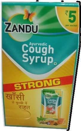 Zandu Cough Syrp 36NX 8ml Sachets