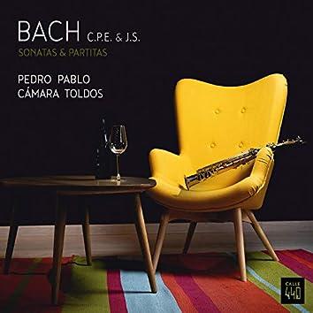 BACH C.P.E. & J.S. Sonatas & Partitas