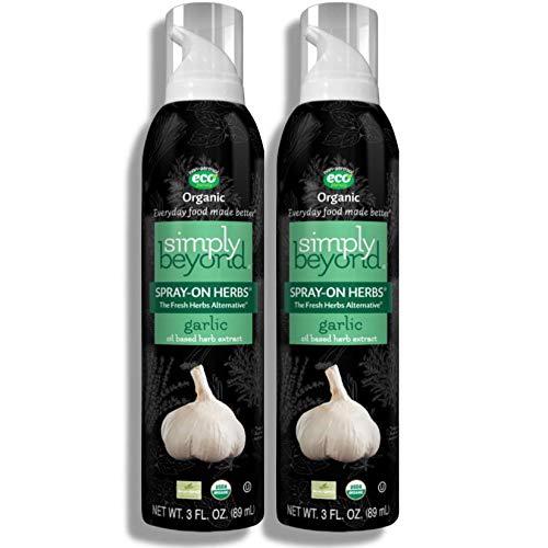 Simply Beyond Organic Spray on Fl. Garlic 3 San Antonio Mall Limited time sale Oz. Herbs