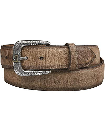 Lucchese Men's Mad Dog Goat Leather Belt Tan 36