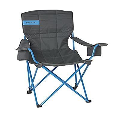 Kelty Deluxe Lounge Chair - Smoke/Paradise Blue