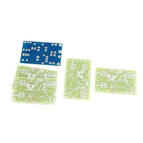 X-DREE 37MM X 22MM 라이트 사운드 지연 센서 모듈 스위치 PCB 빈 보드 X 5 (37MM X 22MM 라이트 보드 지연 모듈러스 센터 INTERRUTTORE PCB SCHEDA VUOTA X 5