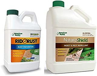 Pro Products Pack Rid O' Rust Stain Preventer and NatureShield Insect Pest Repellant