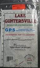 Lake Guntersville Recreation & Fishing Guide Map GPS Atlantic Mapping Geo Plot System