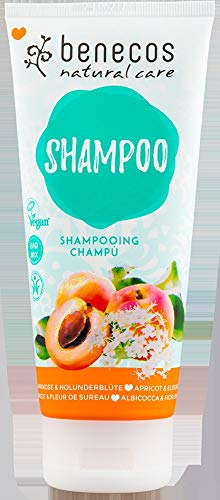 benecos Bio benecos Shampoo Aprikose & Holunderblüte (6 x 200 ml)