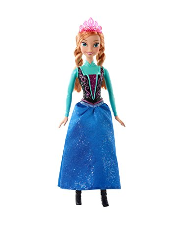 Mattel CFB81 - Disney Princess Märchenglanz Prinzessin Anna Puppe