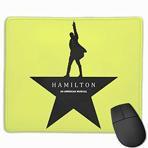 Hamilton Mouse Pad with Stitched Edge, Premium-Textured Mouse Mat 25x30cm