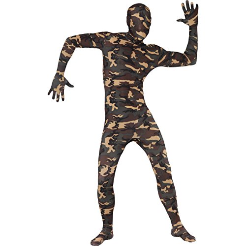 Second Skin Suit Fancy Dress Unisex Adult Costume