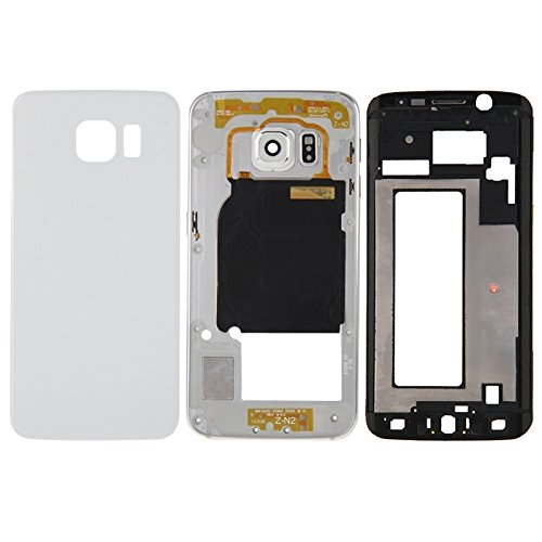 High-end Best Replacement Parts Full Housing Cover(Front Housing LCD Frame Bezel Plate + Back Plate Housing Camera Lens Panel + Battery Back Cover) Compatible With Samsung Galaxy S6 Edge / G925