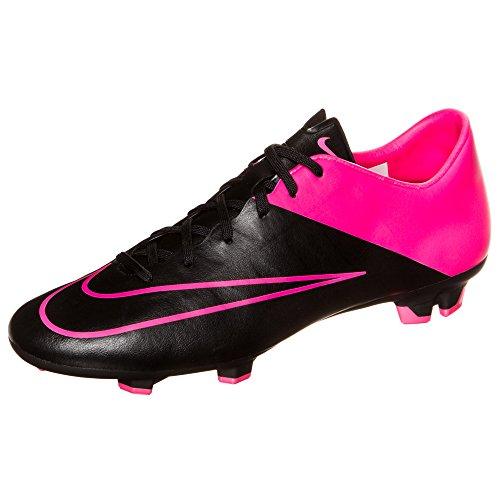 Nike Mercurial Victory V FG, Botas de fútbol para Hombre, Mehrfarbig (Black/Black/Hyper Pink/Hyper Pink), 47,5 EU
