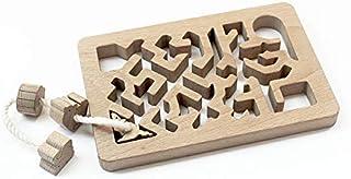 ネズミが三角ヘビが丸 (手探りで遊ぶ木のおもちゃ) 日本グッド・トイ受賞おもちゃ