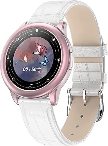 Reloj inteligente IP68 impermeable Fitness Tracker con frecuencia cardíaca Presión arterial Monitoreo de oxígeno en sangre Recordatorio de mensajes Podómetro Actividad Tracker-F