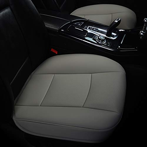 car seat cover leather grey - 6
