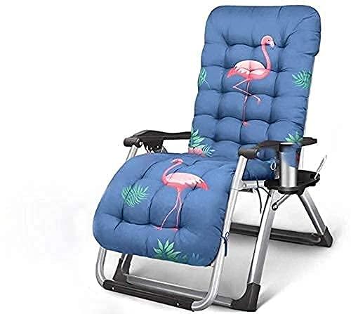 Sillones de patio, sillón reclinable de moda, sillón reclinable, siesta plegable, balcón...