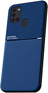 Hicaseer Case for Galaxy A21S,TPU Scratch Resistant Shock-Absorption Protection Case&Anti-Fingerprint Smooth Flexible Dura...
