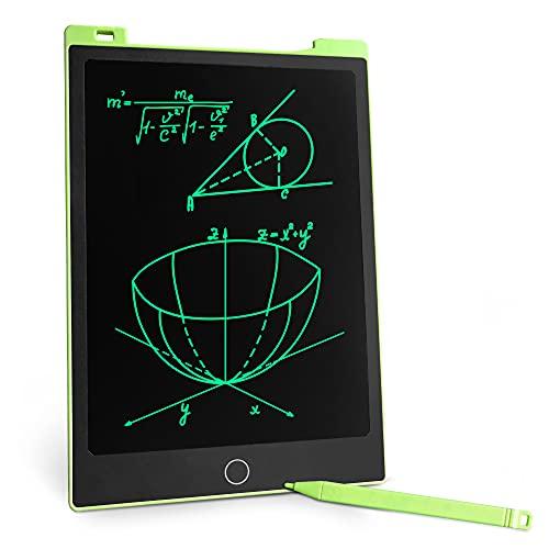 Richgv Tavoletta Grafica LCD Scrittura Digitale, 11 pollici Ewriter Tavolo da Disegno Magnetico, Elettronica LCD Writing Tablet Lavagna Cancellabile per Bambini (Verde)