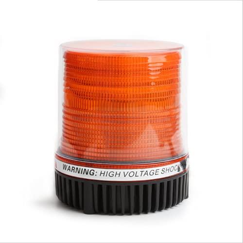 LIPETLI Luces de Emergencia para Techo de Coche, luz Intermitente SúPer Brillante led, luz de Advertencia del AutomóVil de Techo MagnéTico Fuerte Recargable,