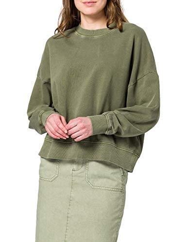 ESPRIT Damen 021EE1J305 Sweatshirt, 350/KHAKI Green, XL