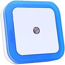 Scucs Plug-in LED Nachtlampje met schemer-tot-dageraad sensor voor slaapkamer badkamer keuken hal trappen