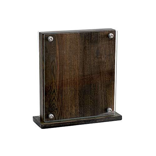 ProCook - Magnet- Messerblock - aus Glas und Esche - Holz - unbestückt - braun - groß